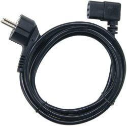 Câble d'alimentation secteur 1.8m COUDE 0.75 mm²