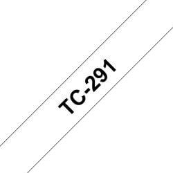 Ruban TC 9mm noir / blanc