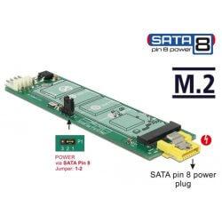 Convertisseur SATA pin 8 > M.2 Key B