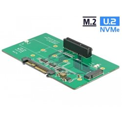 Adaptateur U.2 SFF-8639 > PCIe x4 ou M.2 Key M