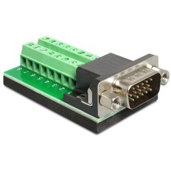 Adaptateur DB15hd M > terminal block