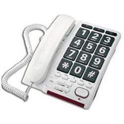 Téléphone analogique HD Max Blanc