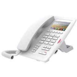 Téléphone SIP H5-Hotel PoE blanc