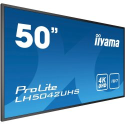 "Moniteur 49,5"" IPS LED 4K UHD HP DVI/HDMI/DP"
