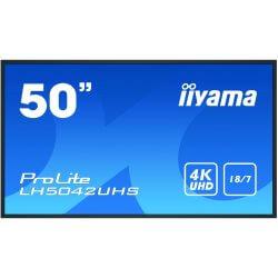 "Moniteur 49,5"" IPS Led 4K UHD HP VGA/DVI/HDMI/DP"