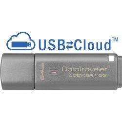 Clé USB 3.0 Kingston DataTraveler Locker 64Go