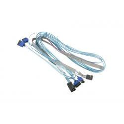 Cable SFF-8643 vers 4 SATA