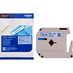 Ruban cassette MK 9mm noir / bleu